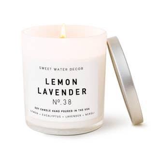 Lemon Lavender Candle