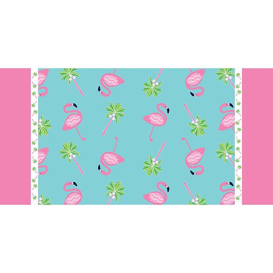 Beach Towel Flamingo Flock