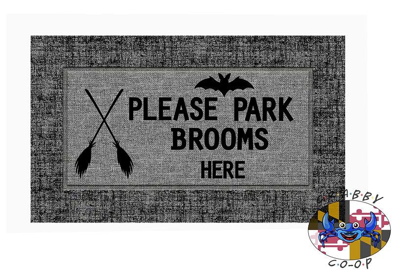 Park Brooms Here
