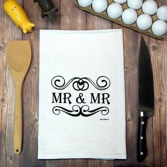 """Mr & Mr"" Towel"