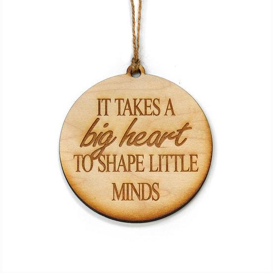 """""""Big Heart"""" Ornament"""