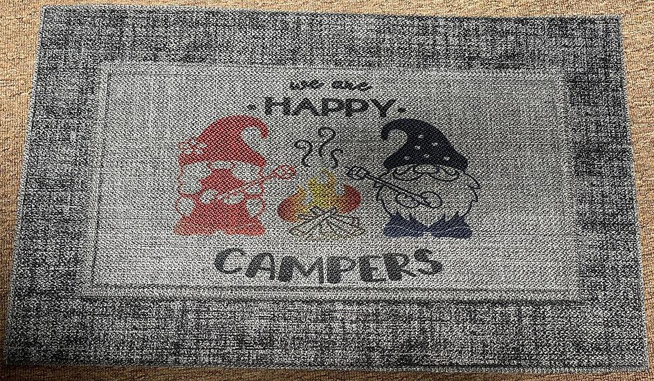 Happy Campers Door Mat