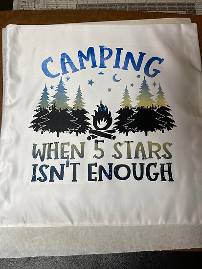 5 Stars Camping Pillow Case