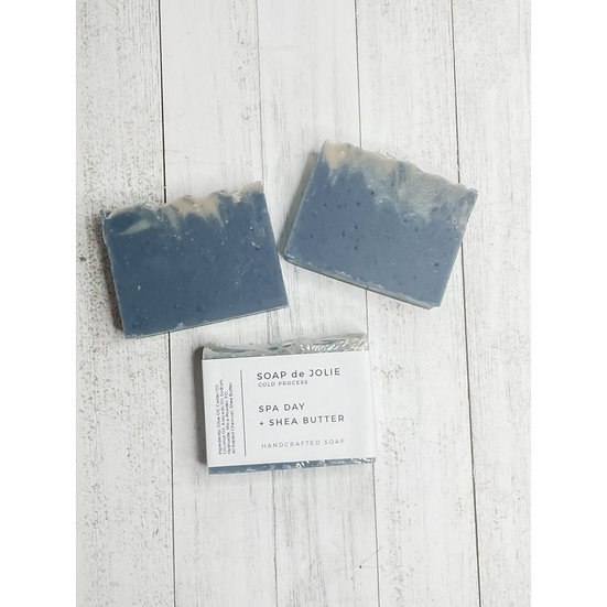 Spa Day & Shea Butter Cold Pressed Soap