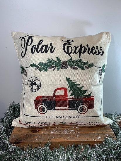 Polar Express Pillow