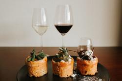 bunny chow wine pairing