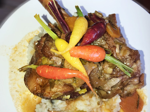 Lamb Shanks recipe paired with Welgegund Heritage Wines Providence 2015