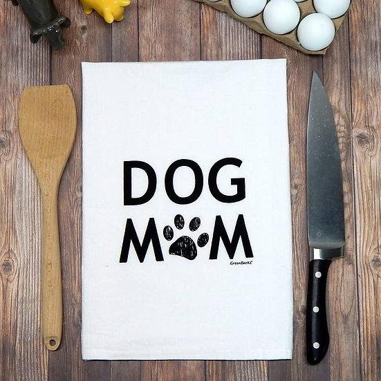 """Dog Mom"" Towel"
