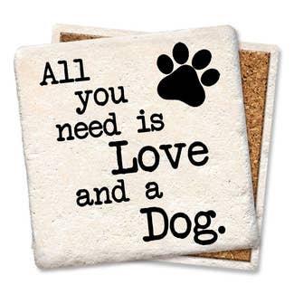 Love & a Dog Coaster