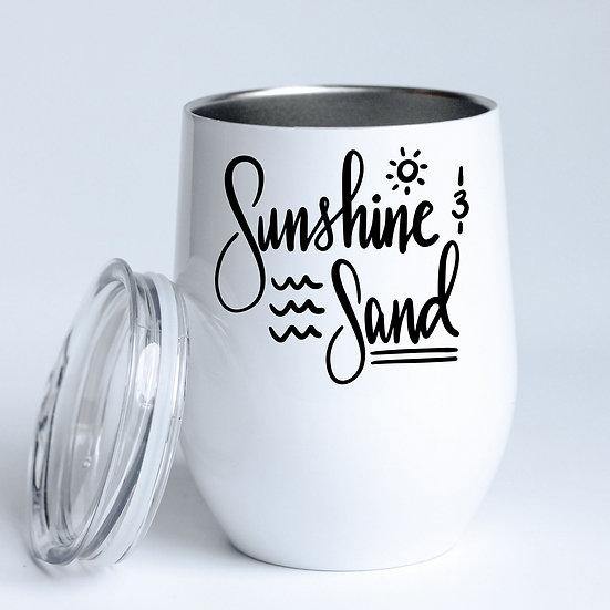 Sunshine & Sand Tumbler