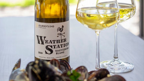 White Wine Mussel Soup Recipe paired With Journey's End Weather Station Sauvignon Blanc