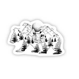 Bear Nature Sticker