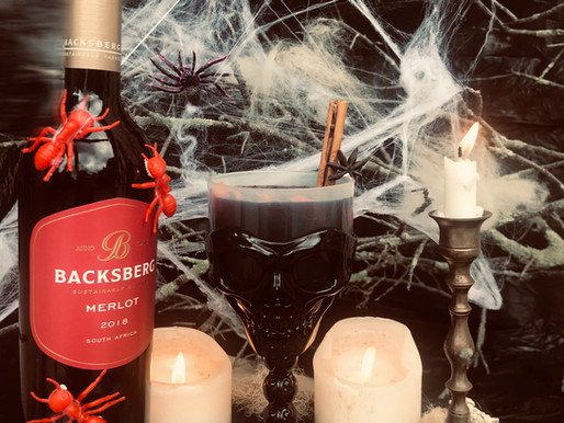 Celebrate Halloween with this Spooctacular Sangria Recipe from Backsberg 👻⚰️🕷🕸
