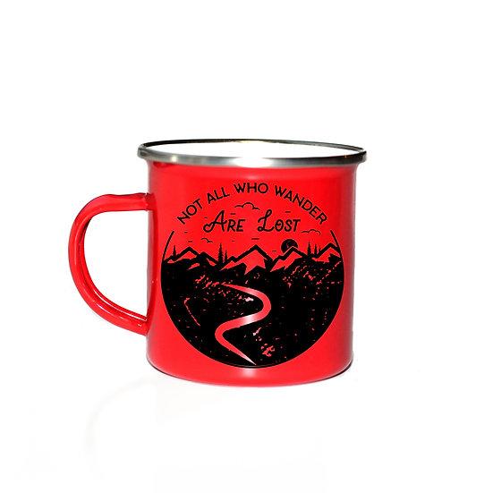 """""""Not all who wander"""" Mug"""
