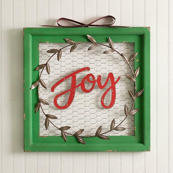 Joy Wall Sign