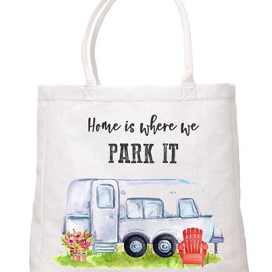 """""""Park it"""" Tote"""