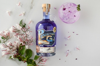 Light up your favourite gin cocktail this sunny season with new Prohibition Blue Gin