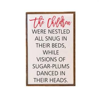 The Children Were Nestled