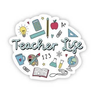 Teacher Life Sticker