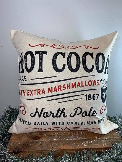 Hot Cocoa Pillow