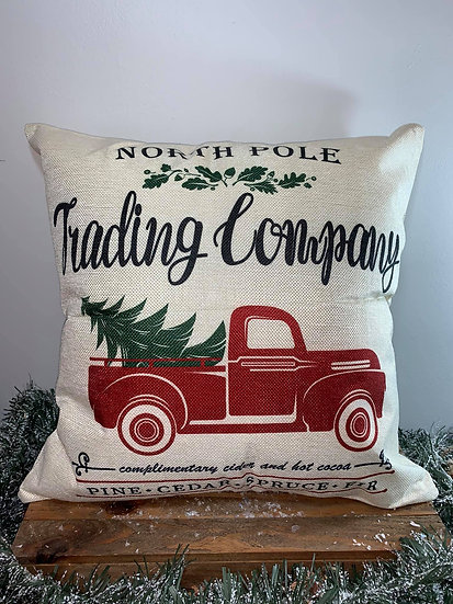 North Pole Trading Co Pillow