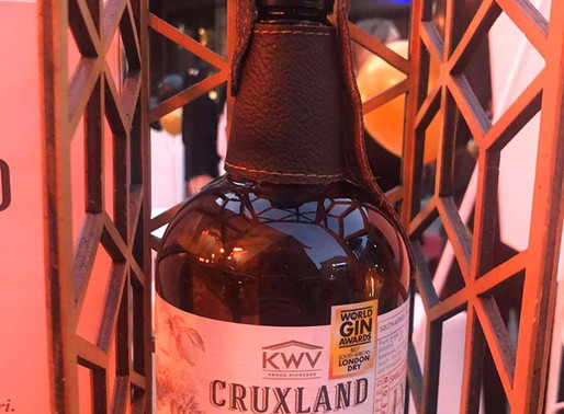 KWV Cruxland Gin scores a trifecta with another win at 2020 World Gin Awards