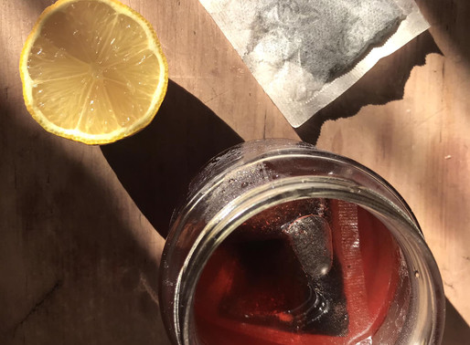 Quick and easy lemon tea simple syrup