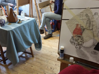 Drawing and Painting Classes in North London
