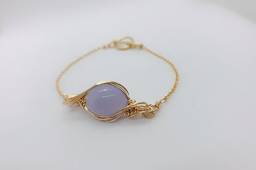 Blue Calcedony Bracelet