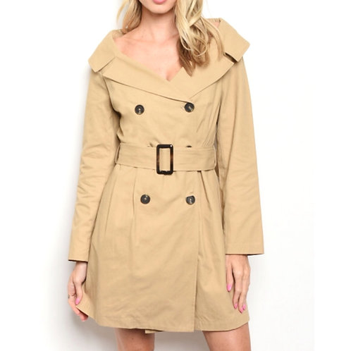 Smooth Criminal Trench Coat