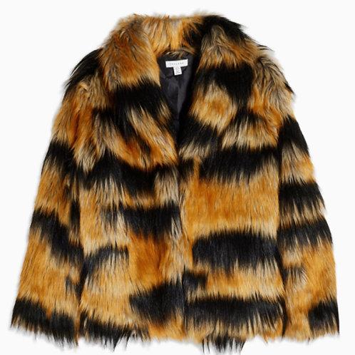 Eye of the Tiger Faux Fur