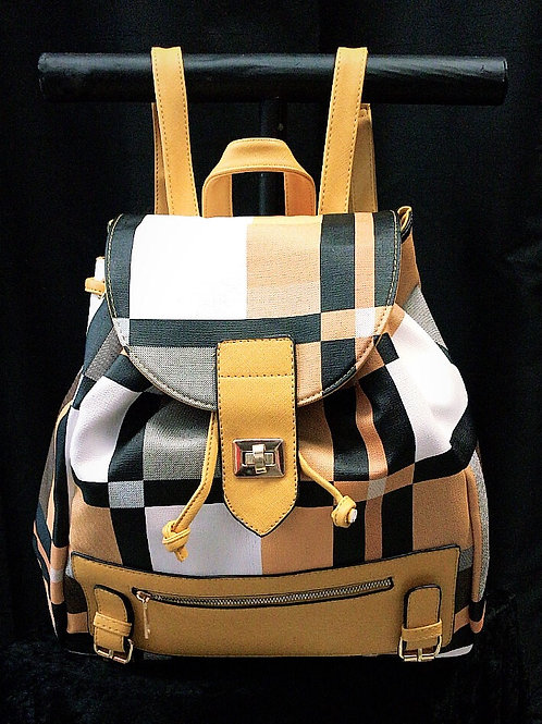 Plaid Backpack (3 colors)