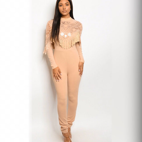 Level Up Tassel Jumpsuit