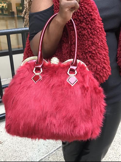 Royal Lady Fur Bag
