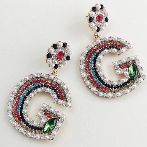 Victorian GG Earrings