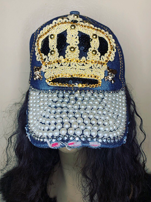 Royalty Jean Cap