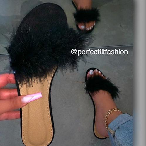 Miss Prissy Fur Slides