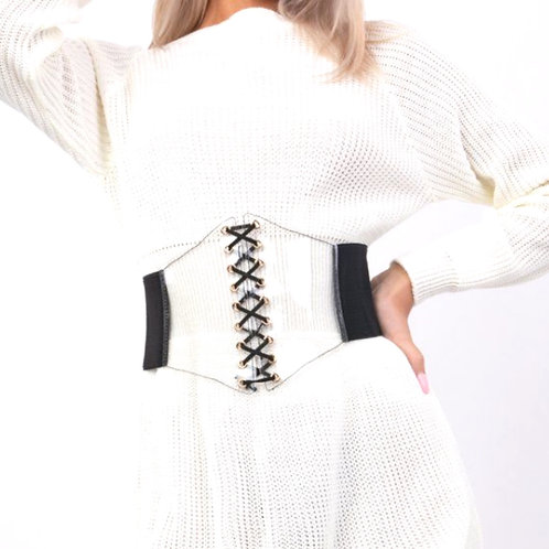 Clear Corset Belt