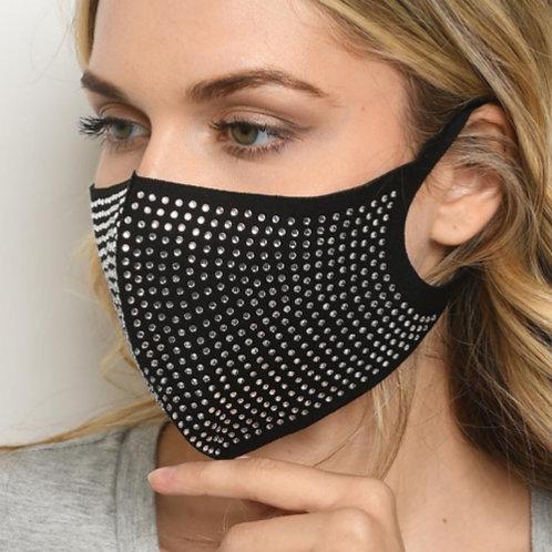 Black Bling Mask