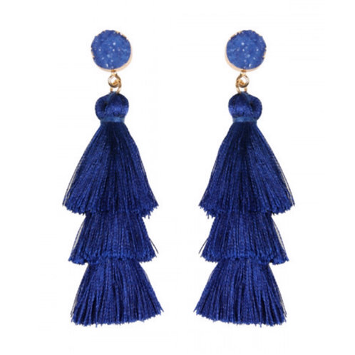 Layers of Royalty Earrings