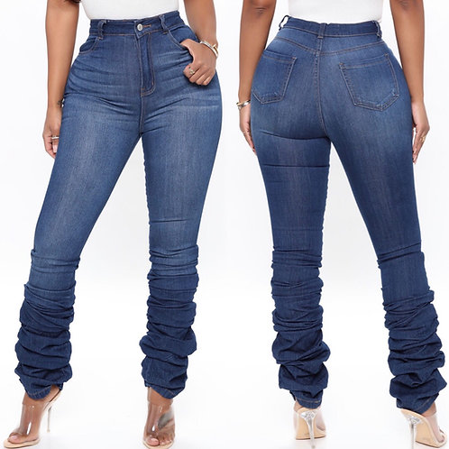 Scrunched Bottom Jeans