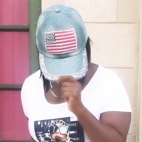 Brought to America Cap