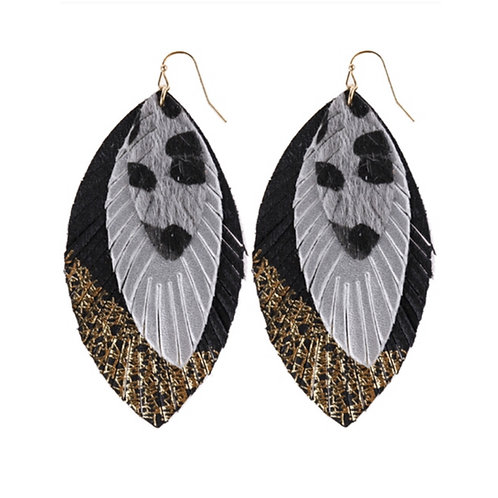 Feathered Prints Earrings