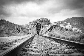 Follow the tracks, N. of Cajon Pass