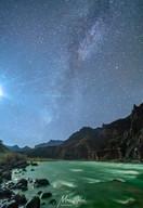 Milkyway over Escalante Rapids