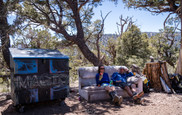 Big Bear Hostel Trail Magic