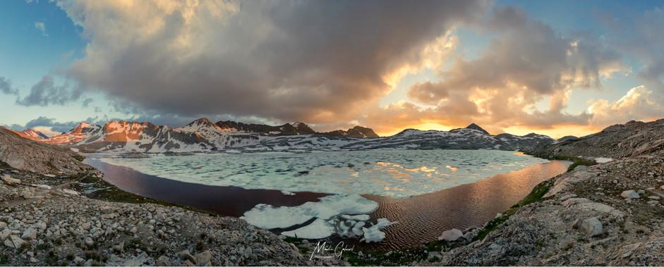Wanda Lake sunset