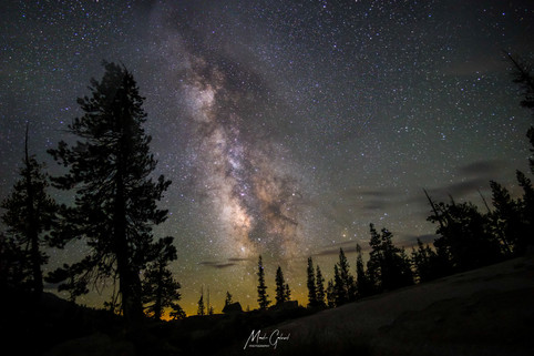 Millyway over Yosemite