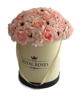 פרחי סבון ורדרדים