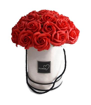 ורדים אדומים לוהטים